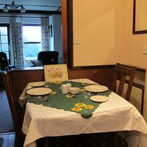 Dining in Beechcroft