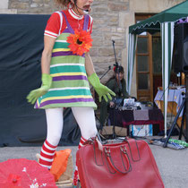 collsuspina, espectacle de Clown amb Ploramikes, 2012