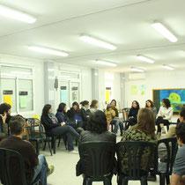 Collsuspina, Xerrada amb espai d'edudcació viva l'Albada, 2013