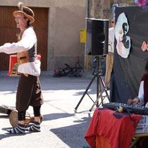 collsuspina, els viatges de Tunqueque i Calèndula Faig, contes 2012