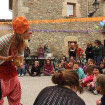 Collsuspina, Clown amb Peca de Cia TopGuay, 2014