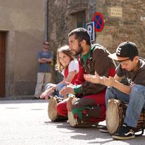 collsuspina, espectacle la màgica història del somiatruites, 2011