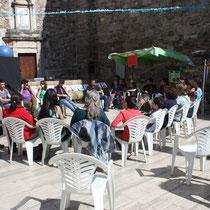 Moià, Xerrada amb Pallassos sense fronteres, 2013