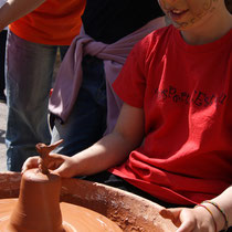 collsuspina, taller de ceràmica 2012