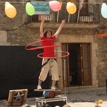 collsuspina, circ amb Cia Katraska, 2014