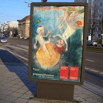 Leuchttafel/Display Innenstadt Magdeburg