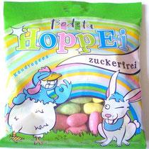 Verpackung Osterartikel: Bodeta Hoppei, Kaudragees, Bodeta Süßwaren GmbH Oschersleben