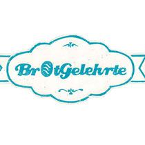 Banderole mit Logo