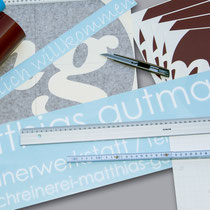 Folienbeschriftungen   >> Foil labeling