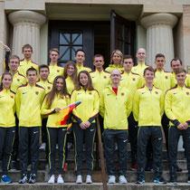 Das deutsche Team beim Europacup (Foto: RaceWalk Pictures)