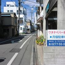 桐生本町4丁目 貸し駐車場 ワタナベパーキング
