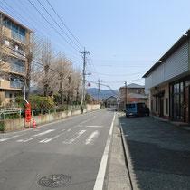 月極貸し駐車場 桐生市相生町3-341-5 接道状況