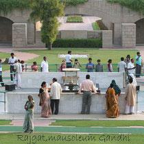 Rajghat,Mausoleum ,Gandhi.