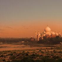 Taj Mahal ,Sunrise