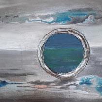 Raum und Zeit, 40 x 50 cm, 2020