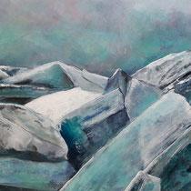 Eiszeit  (80 x 100 cm)