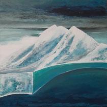 Winter Polar Day (80 x 80 cm)