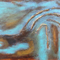 Wasserlauf (50 x 70 cm)
