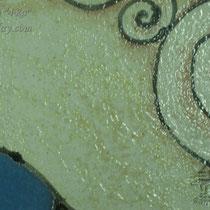 2-06.  Керамическое фасадное панно с пионами.