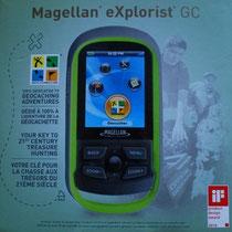 Die Verpackung des Magellan eXplorist GC