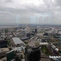 Aussicht auf Melbourne vom Eureka Tower