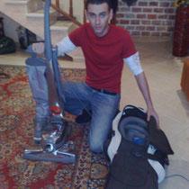 Уборка кирби. Израиль.
