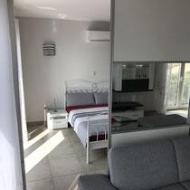 Zugang zum 2. Schlafzimmer