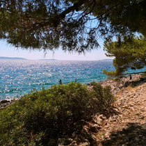 Was für ein Ausblick über das Meer