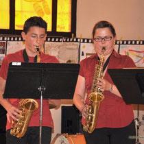 La classe de saxophone.