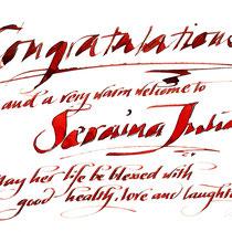 Glückwunsch zur Geburt