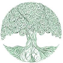 Lebensbaum als Einladung zum runden Geburtstag