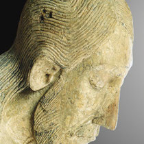 Georgskruzifix, Holzskulptur,  Inv.-Nr. A9, Museum Schnütgen Köln; Photo: G. Hoensbroech, Atelier Restaurator Schneider, Köln