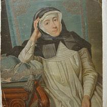 Vorzustand, Leinwandgemälde, Privatbesitz; Photo: G. Hoensbroech, Restaurierungsatelier Conservatio Artis, Köln