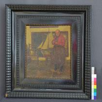 Vorzustand Gemälde, Privatbesitz; Photo: G. Hoensbroech, Restaurierungsatelier Conservatio Artis, Köln