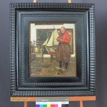 Endzustand Gemälde, Privatbesitz; Photo: G. Hoensbroech, Restaurierungsatelier Conservatio Artis, Köln