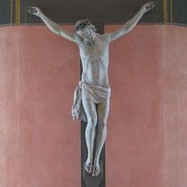 Vorzustand Holzskulptur; Malteser Kommende Ehreshoven; Photo: G. Hoensbroech, Restaurierungsatelier Conservatio Artis, Engelskirchen