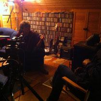 Axel während des Interviews