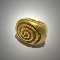 Bague Labyrinthe or jaune