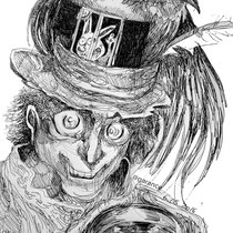 """""""Take some more tea,"""" the March Hare said to Alice, very earnestly."""""""