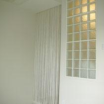 寝室側からおしゃれなガラスブロック