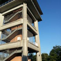 4階の高台です
