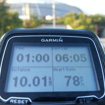 朝RUN 10キロ