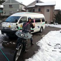 雪すごい・・・