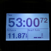 夜ラン12キロ+3キロ