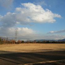 冬のドーム公園