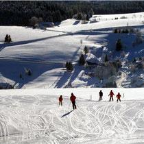 Skifahren an Neujahr