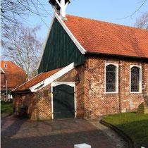 Die älteste Inselkirche Ostfrieslands - erbaut 1696