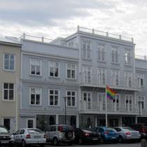 Flagge zur Reykjavík Gay Pride