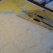 kaart van de kapitein