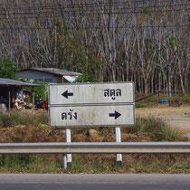 wegwijzer Thailand